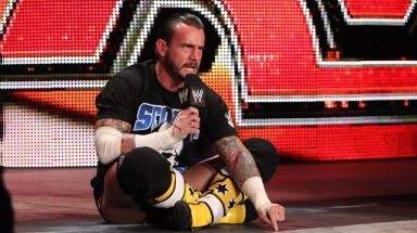 WWE Superstar CM Punk cutting perhaps his best promo in 2011 as he blurred the lines of Reality and Entertainment.
